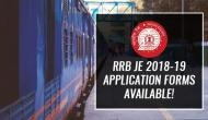 RRB JE Registration 2019: Few hours left for the submission of online application form for 13,847 vacancies