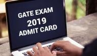 GATE 2019 Exam Admit Card: Get ready to download your admit card tomorrow at this time