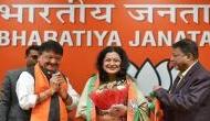 West Bengal: Piku actress Moushumi Chatterjee joins BJP in the presence of Kailash Vijayargiya; likely to contest 2019 polls