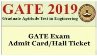 GATE Admit Card 2019: At this time IIT Madras will release your hall tickets today; know where to check