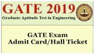 GATE 2019: एडमिट कार्ड जारी, ऐसे करें डाउनलोड और जानें परीक्षा की डिटेल