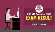 UGC NET 2018 Exam Result: Check your NTA December Exam result before Makar Sankranti