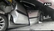 1 dead, 15 injured as vehicle pileup on National Highway 28 due to fog in Bihar's Muzaffarpur