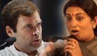 Insult to Amethi: Smriti Irani on Rahul Gandhi filing nomination from Wayanad