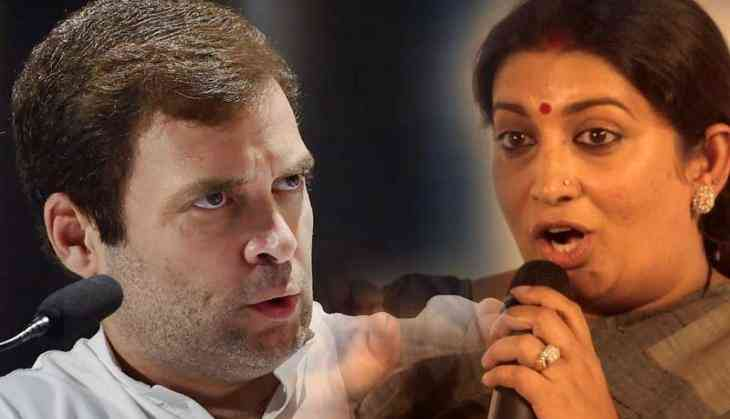 Smriti Irani gives scathing reply to Rahul Gandhi for his tweet over PC for women in Indian Army