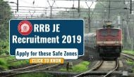 RRB JE Recruitment 2019: These are the safe zones where you can apply for over 13,000 posts for easy selections