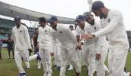 Video: जीत के बाद लोट-लोटकर नाची टीम इंडिया, पुजारा को नचाने के लिए कोहली ने किया ये..