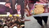 इस BJP विधायक ने मंदिर में खाने के साथ बांटी शराब की बोतलें, कभी पिता ने शराब को लेकर दिया था ये बयान