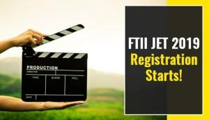 FTII JET 2019 Registration Starts! Apply for these Post Graduate Diploma programmes