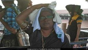 36-years-old Kerala woman activist dyed her hair grey, entered Sabarimala temple in disguise
