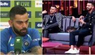 Here is what skipper Virat Kohli said on KL Rahul, Hardik Pandya controversy on Koffee With Karan