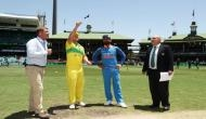 IndvsAus: ऑस्ट्रेलिया ने टॉस जीतकर किया पहले बल्लेबाज़ी का फैसला, भारत ने हार्दिक की जगह इस खिलाड़ी को दिया मौका