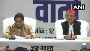 Akhilesh, Mayawati announce seat sharing in UP, SP to contest from Varanasi and Gorakhpur