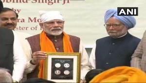 PM Modi releases commemorative coin on Guru Gobind Singh birth anniversary; comments upon Kartarpur corridor