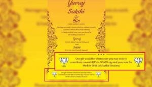 Gujarat couple who defended Rafale deal in wedding card and seek votes for BJP as gift, gets praised by PM Modi