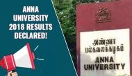 Anna University Results 2018: Check out the results of undergraduate and post graduation degree at these links