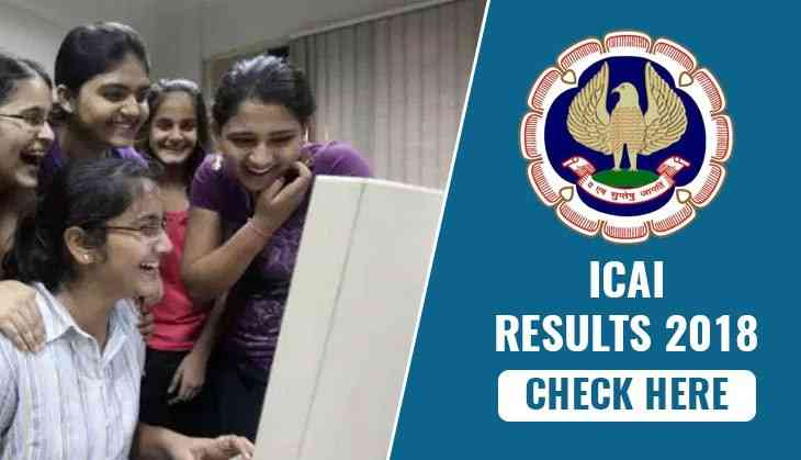 ICAI 2018 Results: Check the exact date to download the results CA foundation, CPT and CA final