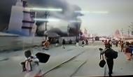 प्रयागराज: पहले स्नान पर ही हादसे का शिकार हुआ कुंभ मेला, दिगंबर अखाड़े में लगी भीषण आग