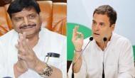 कांग्रेस का समर्थन चाहते हैं चाचा, राहुल गांधी के जवाब का है इंतजार