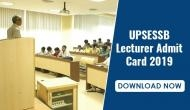 UPSESSB Lecturer Admit Card 2019: Download your hall ticket and know your exam date