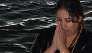 Kumbh 2019: Minister Smriti Irani takes holy dip in Ganga, shares pic on Twitter as Kumbh Mela begins in Prayagraj