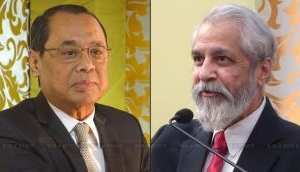 CJI Ranjan Gogoi & Justice Madan Lokur attend swearing-in of Pakistan Chief Justice, shares bench with him