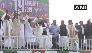 Lok Sabha Election 2019: 'PM Modi's govt expiry date over,' roars Mamata Banerjee at Mega Opposition rally