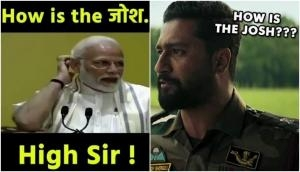 Uri actor Vicky Kaushal shares a video of PM Modi asking 'How's the Josh': video goes viral