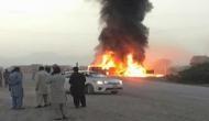 बस से टकराने के बाद तेल से भरे ट्रक में लग गई भीषण आग, 26 लोगों की मौत, 16 घायल