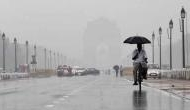 Overcast conditions in Delhi, forecast for thundershowers along with hail