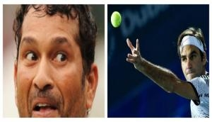 'God of Cricket' Sachin Tendulkar stunned after watching this viral video of Tennis icon Roger Federer