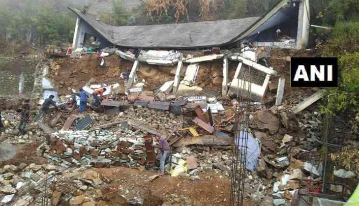 Saraswati Shishu Mandir school's building collapses in Uttrakhand's Gopeshwar after rainfall; rescue underway