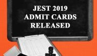 JEST 2019 Exam Admit Card Released! Download your hall tickets and know important dates of examination
