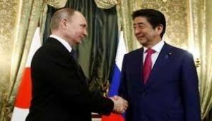 President Vladimir Putin,PM Shinzo Abe hold summit to break island impasse