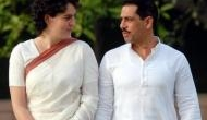 'Please keep her save,' requests Robert Vadra in a Facebook post on wife Priyanka Gandhi, as she rallies in Lucknow
