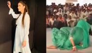 सपना ने पहले अपने ठुमकों से किया दर्शकों को मदहोश, फिर डांस करते-करते खुद हो गईं घायल, देखें वीडियो