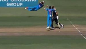 Hardik Pandya takes a remarkable catch to mark his return in the Indian team; video inside