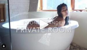 पूनम पांडे की प्राइवेट वीडियो हो गई वायरल, बाथटब में बैठी हुई एक्ट्रेस कर रहीं थी ये काम