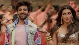 Poster Lagwa Do Song from Luka Chuppi out; Kartik Aaryan and Kriti Sanon recreated Akshay Kumar's hit song