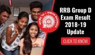 RRB Group D Result 2018: Finally! Check your result on this date of February; click to know