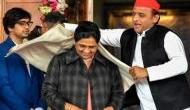 Watch: UP BJP chief makes 'sexist' comment on Mayawati & Akhilesh, invokes guest house scandal; jokes 'ye shawl pitaji ne utara tha'