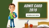 DSSSB Admit Card 2019: Download Tier-1 exam e-hall tickets for these posts