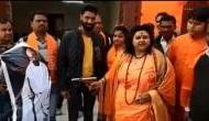 Missing Hindu Mahasabha leader Pooja Pandey who shot at Mahatma Gandhi's effigy in Aligarh, arrested