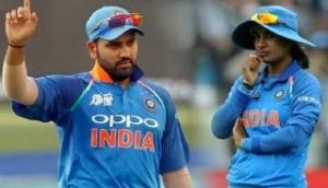 Height of co-incidence between Rohit Sharma and Mithali Raj's 200th innings for their respective sides
