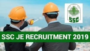 SSC JE Recruitment 2019: Submit your online application form at www.ssc.nic.in; here's how