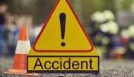 सड़क पर खड़ी एसयूवी से टकराई तेज रफ्तार लॉरी , 7 की मौत, 11 घायल