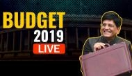 Union Budget 2019 LIVE: 'No' Tax for those with up to Rs 5 lakh income; Sensex surges post Budget