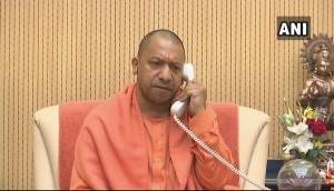 BJP vs TMC: Mamata Banerjee's govt denies Yogi Adityanath's chopper to land in Bengal, he does rally over phone