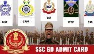 SSC GD: एडमिट कार्ड इस दिन होगा जारी, जीडी कांस्टेबल के 54953 पदों पर होगी भर्ती