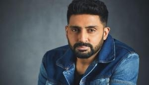 'Light at the end of the tunnel': Abhishek Bachchan takes stroll in hospital late night